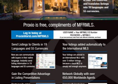 Proxio Landing Page