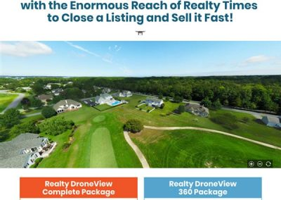 Realty Times Drone Landing